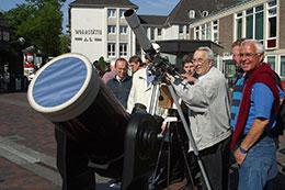 Sonnenbeobachtung der VKS
